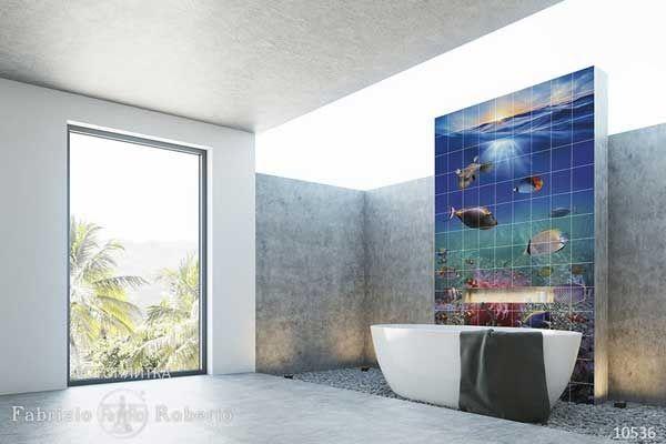 фотоплитка аквариум