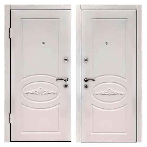 металлические двери титан