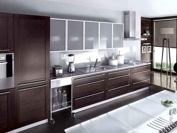 Кухонные фасады, виды материалы