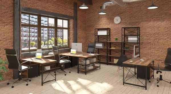 Тонкости выбора: мебель для офиса в стиле LOFT