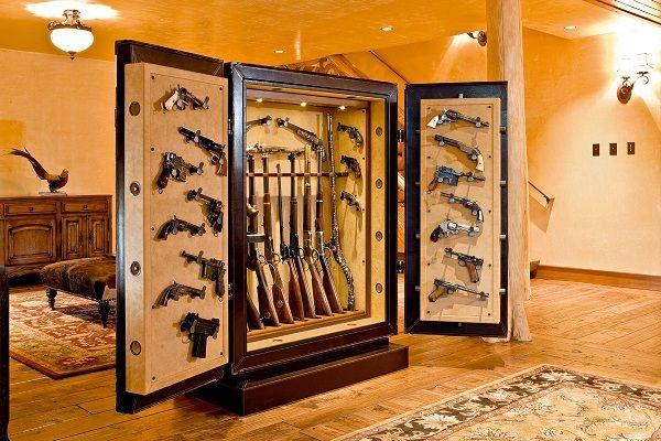 Оружейные сейфы в вашем доме.