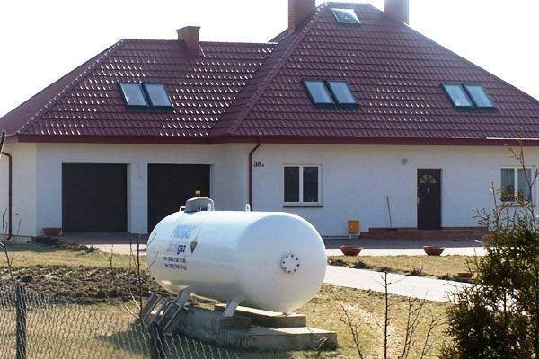 Газгольдеры для автономной газификации дома