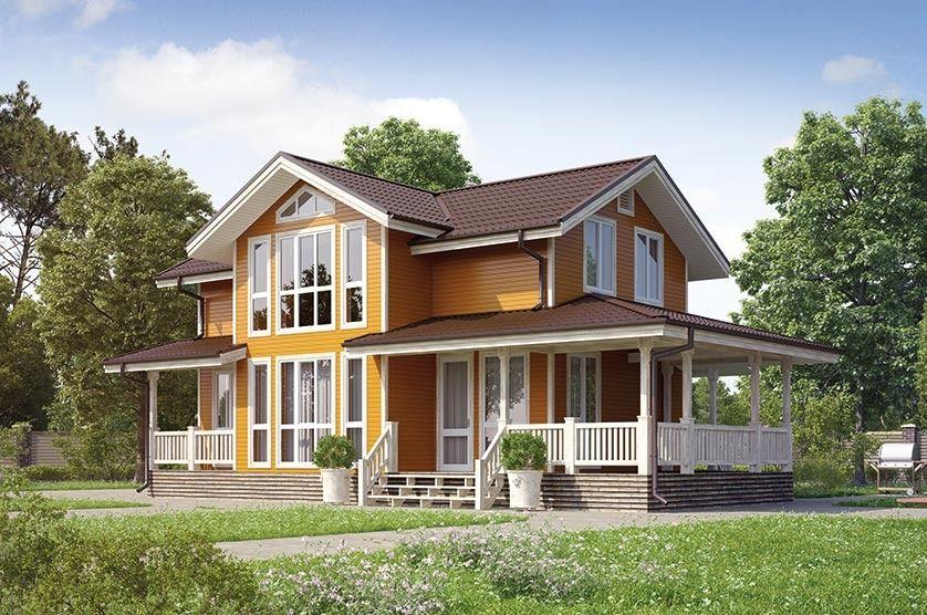 Каркасный коттедж – реализация мечты об уютном жилье