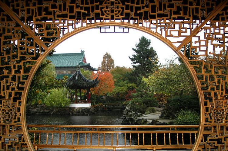 Создание китайского сада