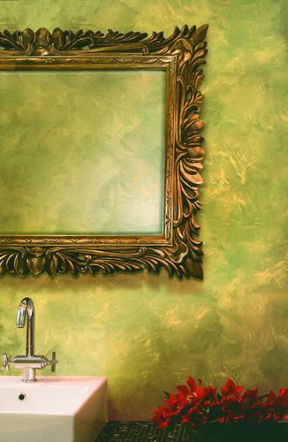 Внутренняя отделка стен: краска