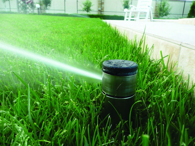 Дренажная система и система полива для сада