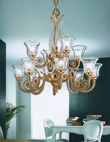 Классический интерьер: мебель, освещение, отделка