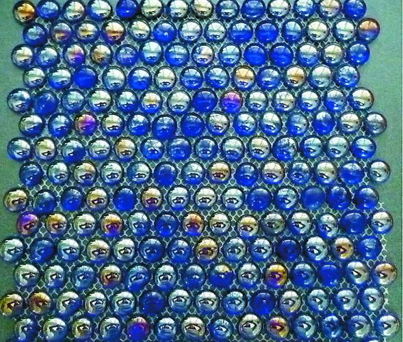 Мозаика: стеклянная и керамическая