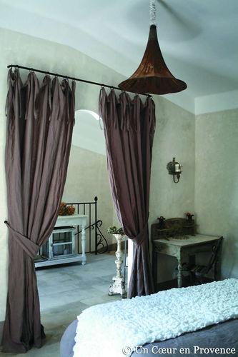 Французские окна в интерьере в стиле прованс