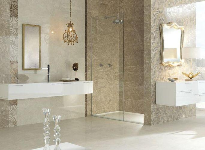 Советы по выбору плитки для ванной комнаты.