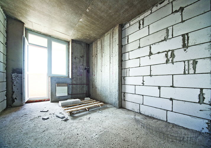 С чего начать ремонт в новой квартире без отделки видео