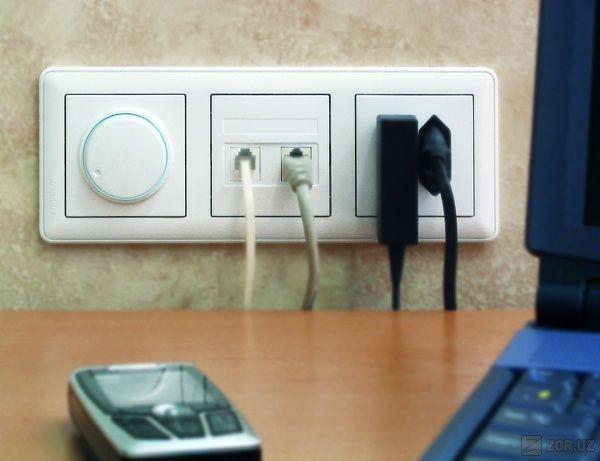 Розетки и выключатели в квартирах