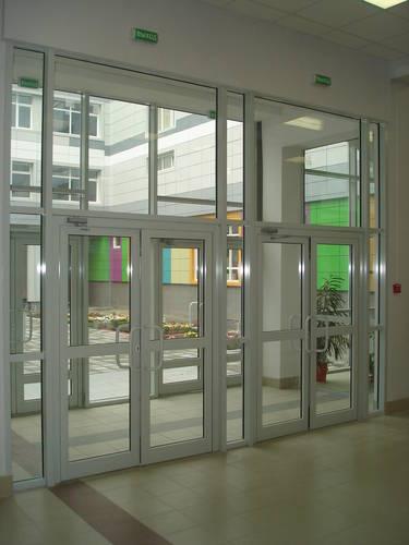 входные двери в производственные помещения
