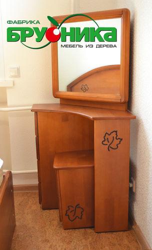 туалетный столик угловой брусника сибдизайнерру