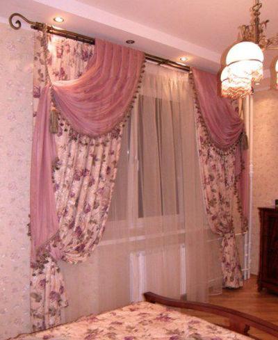 Шторы для спальни интерьер шторы