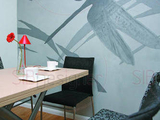 Современный интерьер однокомнатной квартиры дизайнер Регина Сологуб