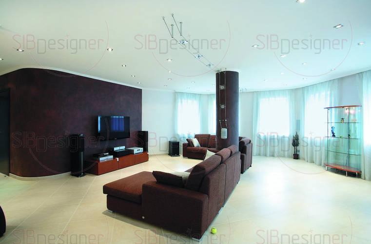 Фото интерьера зала.  Зал: дизайн зала.