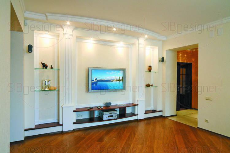 Интерьер квартиры в классическом стиле