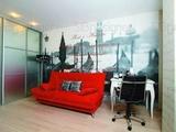 Современный интерьер двухуровневой квартиры красноярский дизайнер Алена Скребнева