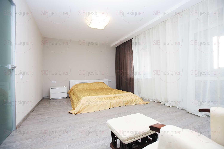 спальня в нежно-светлых тонах