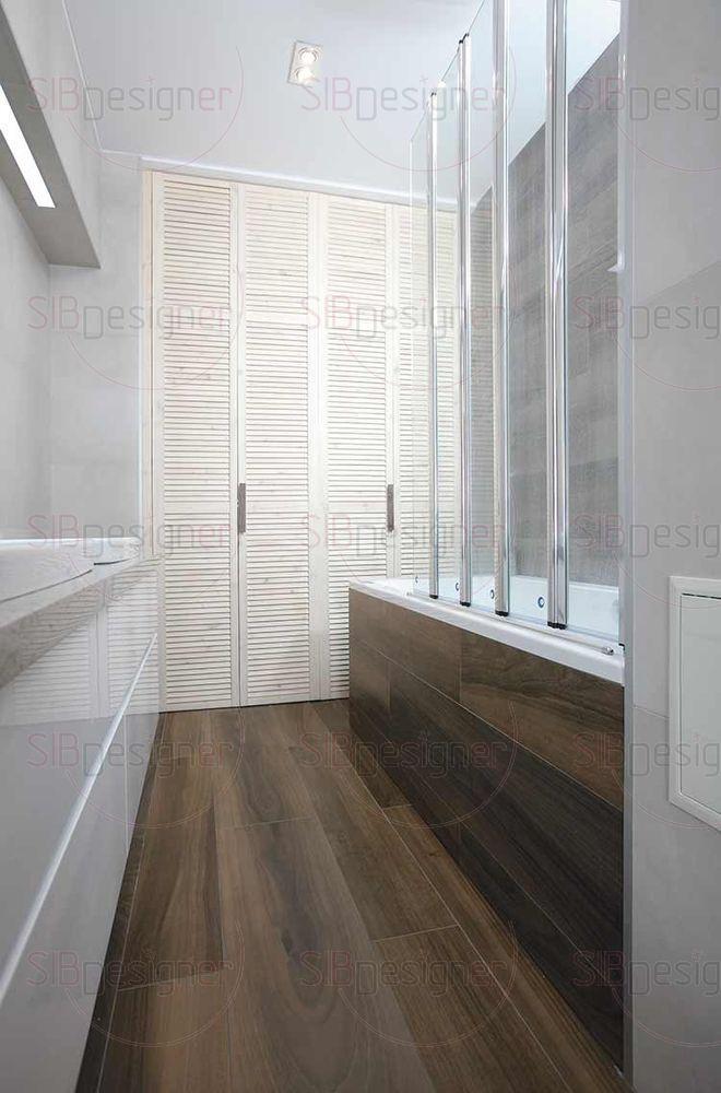 Стеклянная шторка ванной