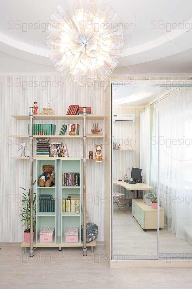 Комната дочери-школьницы – живая и насыщенная мелкими интересными деталями.