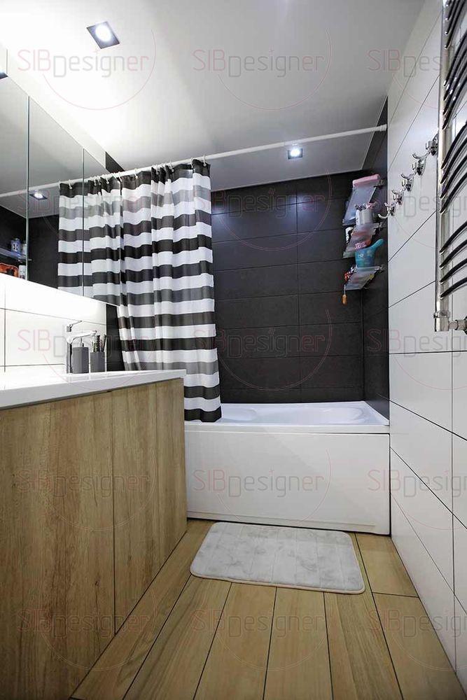 анная также выполнена в общем стиле квартиры.