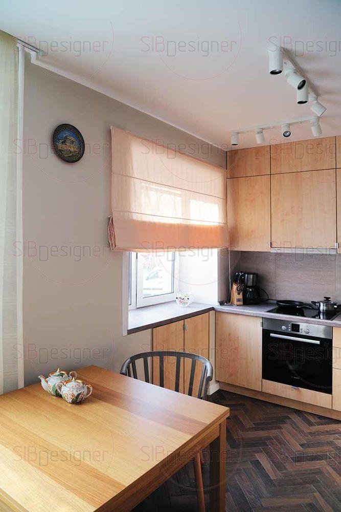 Кухня – одна из якорных зон проекта.