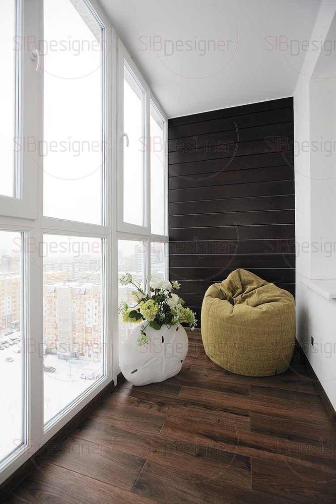 На балконе сохраняется тенденция к простому и натуральному.