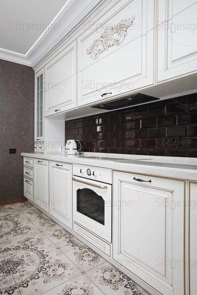 Кухня стала прекрасным примером удачной организации пространства.