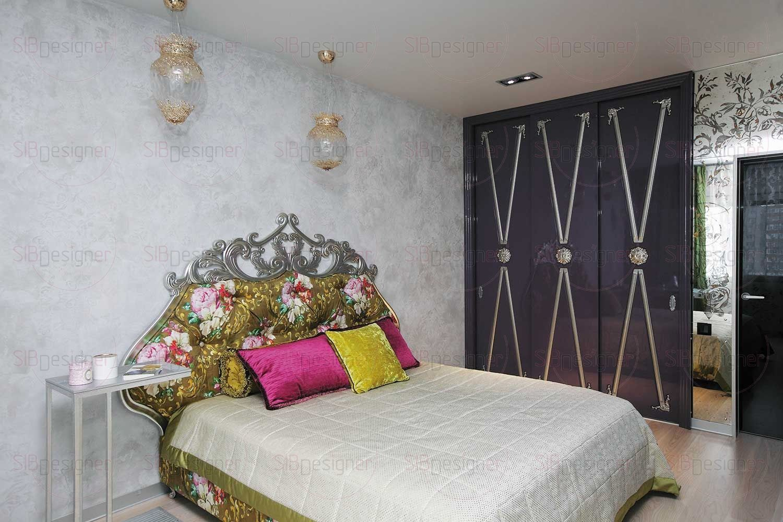 Спальня оказалась эпицентром ярких изменений.