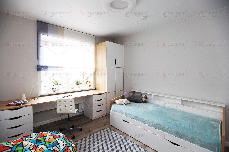 Детская спальня для мальчика.