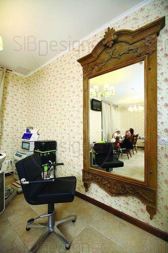 интерьер ногтевой студии в стиле прованс
