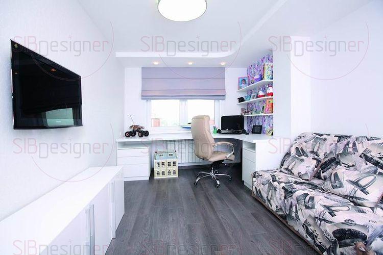 детская комната в стиле минимализм