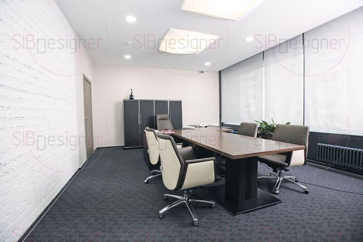 Интерьер офиса строительной компании