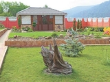 Загородный дом на равнинном участке