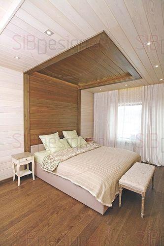 спальня хозяев дома