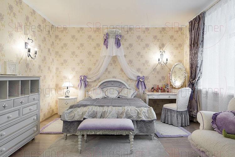 комната принцессы - комната девочки