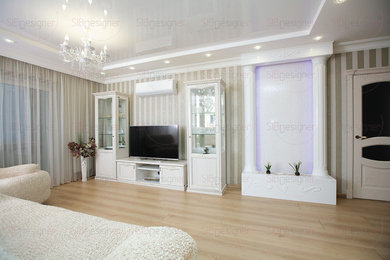 Отделка трехкомнатной квартиры: интерьер для зрелой пары