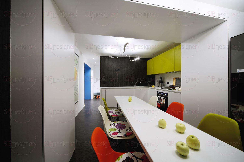 Основной принцип создания обстановки квартиры – это минимум мебели и предельная функциональность.