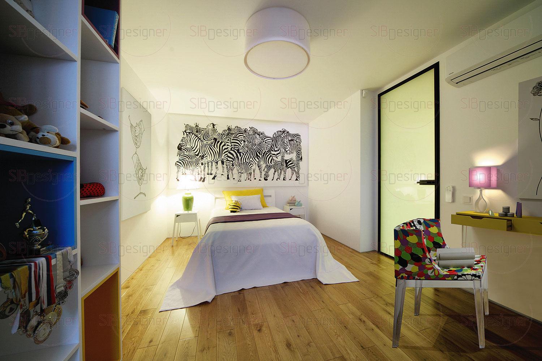 Спальня девочки – светлое и живое пространство