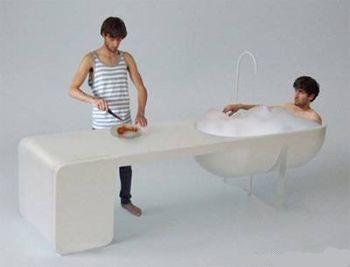 Кухонная ванна