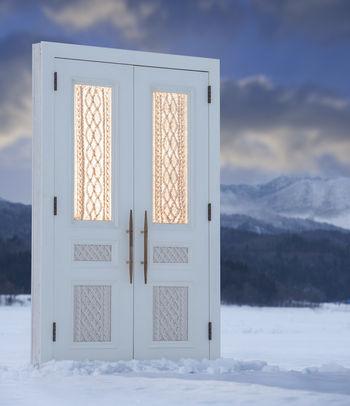 Вязаные двери