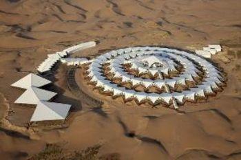 «Лотос» в пустыне