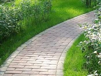 Садовая дорожка на раз-два-три