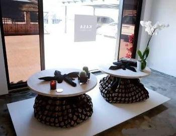 Столик с мешком