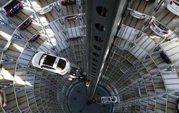 Многоэтажка для автомобилей