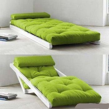 И кровать, и шезлонг