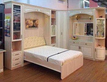 Спрятать кровать в… шкаф