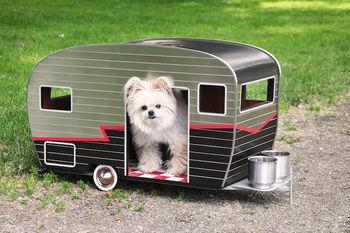 Дом-прицеп для собачки